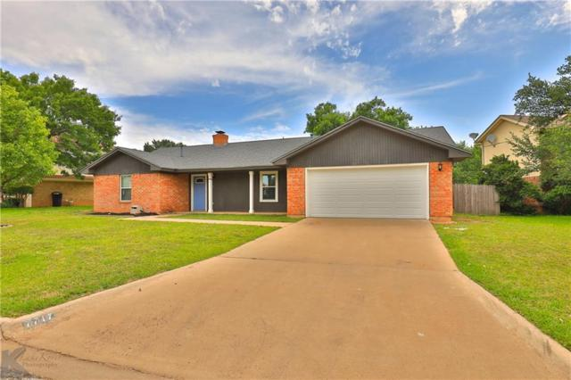 7717 John Carroll Drive, Abilene, TX 79606 (MLS #14111529) :: RE/MAX Town & Country