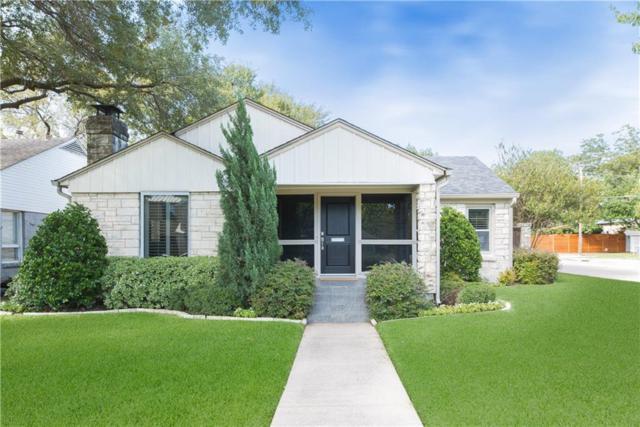 5651 W Hanover Avenue, Dallas, TX 75209 (MLS #14111542) :: The Heyl Group at Keller Williams