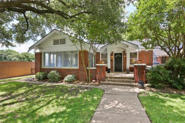 107 N Rosemont Avenue, Dallas, TX 75208 (MLS #14111610) :: The Heyl Group at Keller Williams