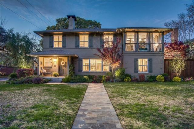 4554 Westway, Highland Park, TX 75205 (MLS #14112381) :: Van Poole Properties Group