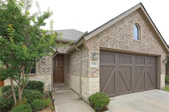 930 Montgomery Way, Argyle, TX 76226 (MLS #14112895) :: North Texas Team | RE/MAX Lifestyle Property
