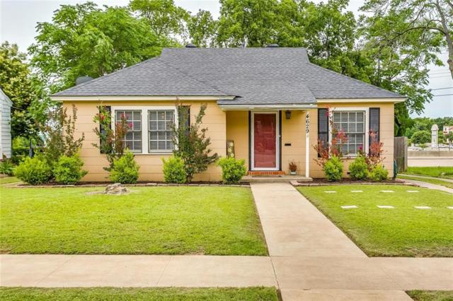 4629 Calmont Avenue, Fort Worth, TX 76107 (MLS #14113213) :: RE/MAX Pinnacle Group REALTORS