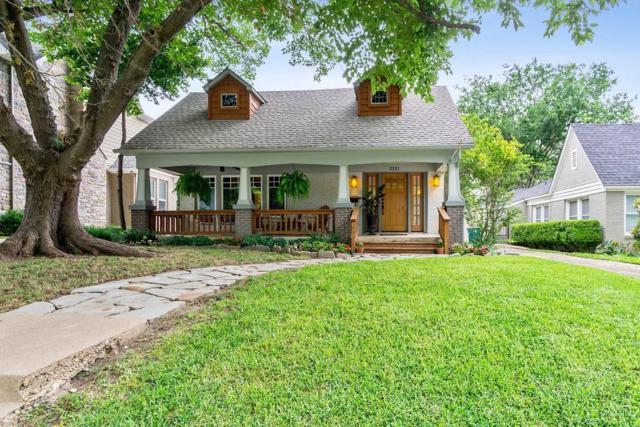 2221 Carleton Avenue, Fort Worth, TX 76107 (MLS #14113252) :: The Tierny Jordan Network