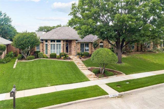 4223 Harvest Point Drive, Carrollton, TX 75010 (MLS #14113272) :: The Heyl Group at Keller Williams