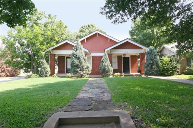 5013 Vickery Boulevard, Dallas, TX 75206 (MLS #14113297) :: Robbins Real Estate Group