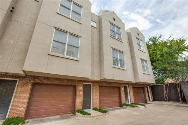 4223 Buena Vista Street #8, Dallas, TX 75205 (MLS #14113434) :: RE/MAX Landmark