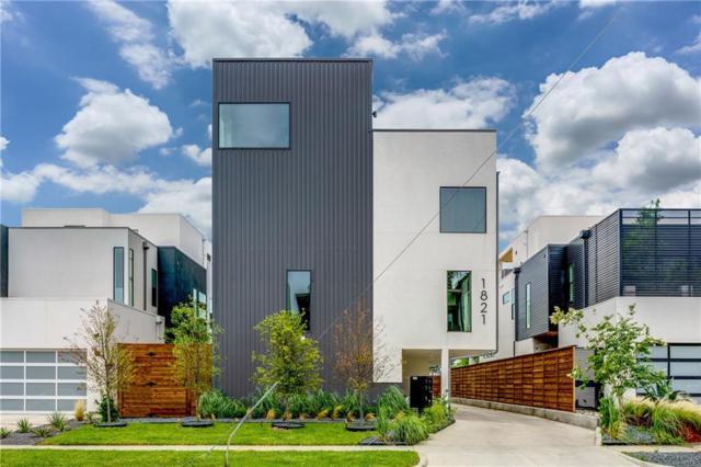 1821 Euclid Avenue B, Dallas, TX 75206 (MLS #14113982) :: RE/MAX Landmark