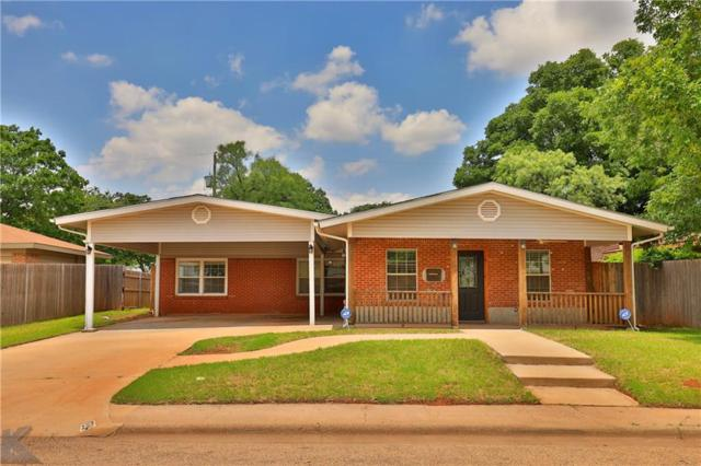 1334 Westview Drive, Abilene, TX 79603 (MLS #14114221) :: RE/MAX Town & Country