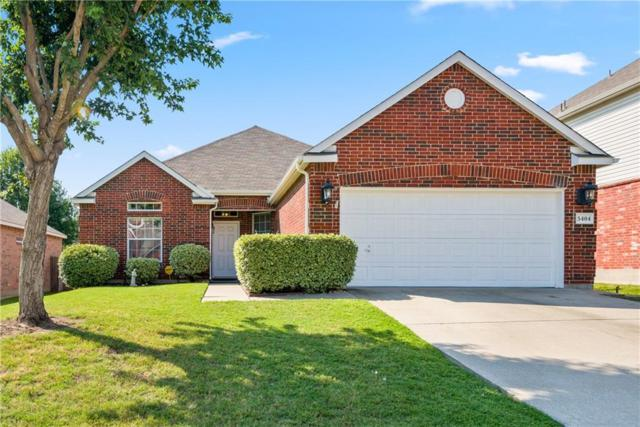 5404 Sonoma Drive, Fort Worth, TX 76244 (MLS #14114522) :: Vibrant Real Estate