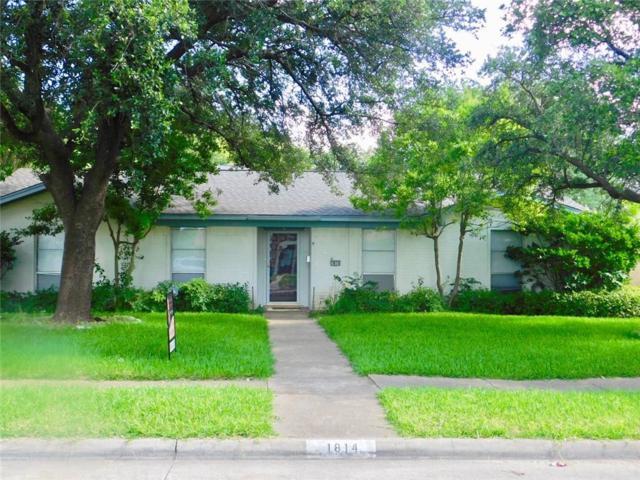 1814 Mission Drive, Garland, TX 75042 (MLS #14114556) :: The Sarah Padgett Team