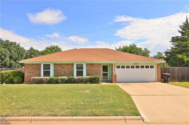 5102 Ryan Circle S, Abilene, TX 79606 (MLS #14114561) :: Kimberly Davis & Associates