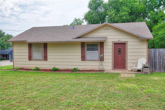 401 Union Street, Aubrey, TX 76227 (MLS #14114603) :: RE/MAX Town & Country