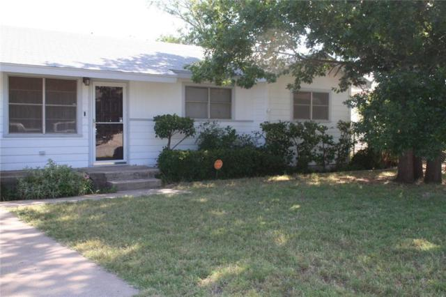 1718 Rose Avenue, Sweetwater, TX 79556 (MLS #14114630) :: RE/MAX Town & Country