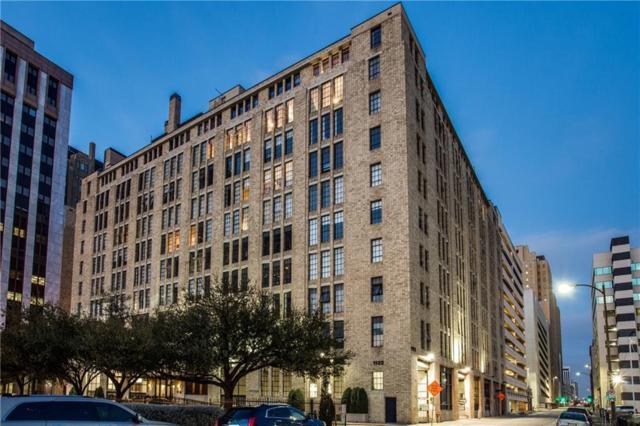 1122 Jackson Street #204, Dallas, TX 75202 (MLS #14114856) :: Van Poole Properties Group