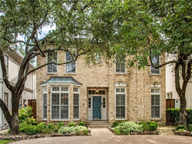 4037 Hanover Street, University Park, TX 75225 (MLS #14115195) :: The Heyl Group at Keller Williams
