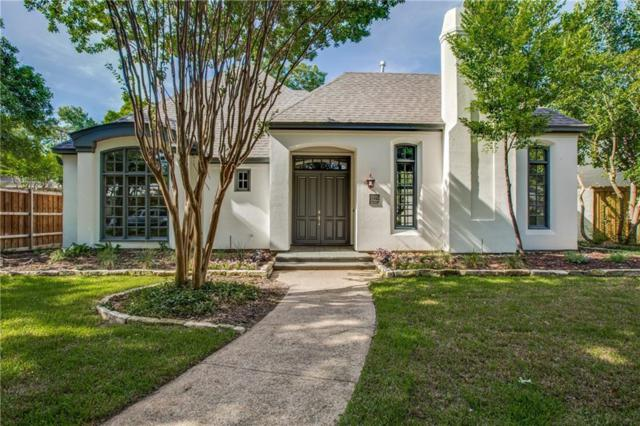 4605 Livingston Avenue, Highland Park, TX 75209 (MLS #14115343) :: Vibrant Real Estate