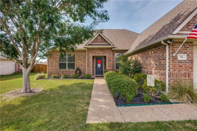 336 Creekside Trail, Argyle, TX 76226 (MLS #14115422) :: Real Estate By Design