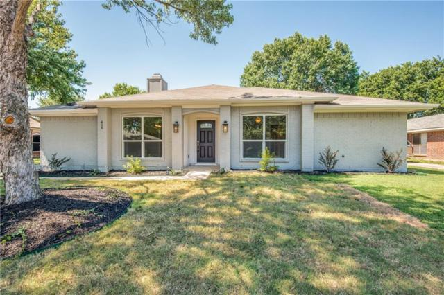 416 Cozby Avenue, Coppell, TX 75019 (MLS #14115595) :: The Heyl Group at Keller Williams