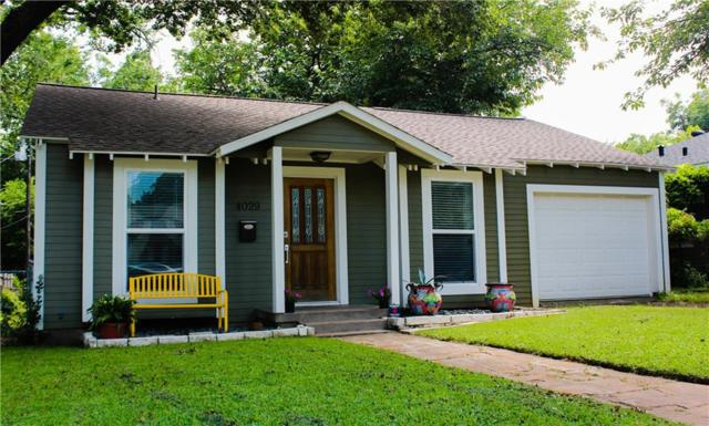 4029 Lovell Avenue, Fort Worth, TX 76107 (MLS #14115598) :: The Mitchell Group