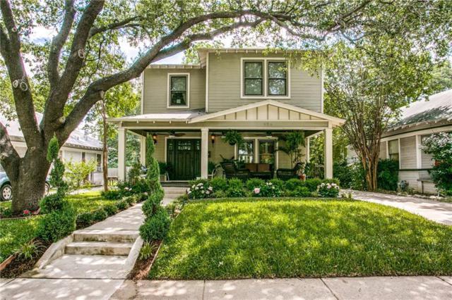 326 S Edgefield Avenue, Dallas, TX 75208 (MLS #14115618) :: Kimberly Davis & Associates