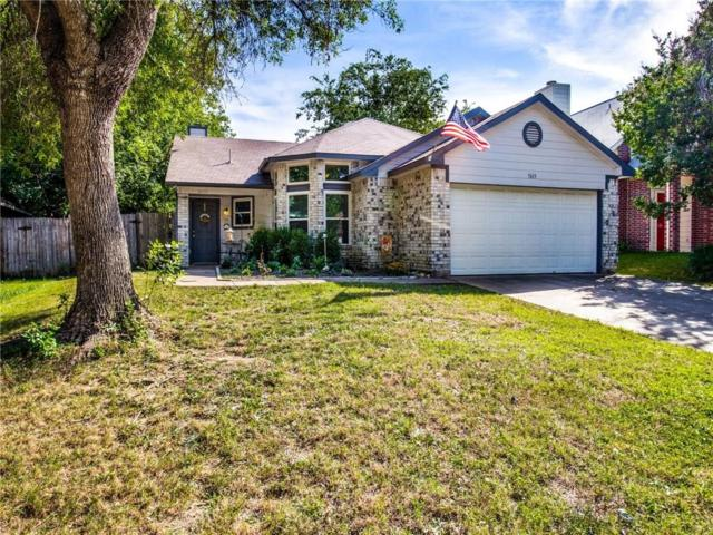 5613 Stone Meadow Lane, Fort Worth, TX 76179 (MLS #14115689) :: The Heyl Group at Keller Williams