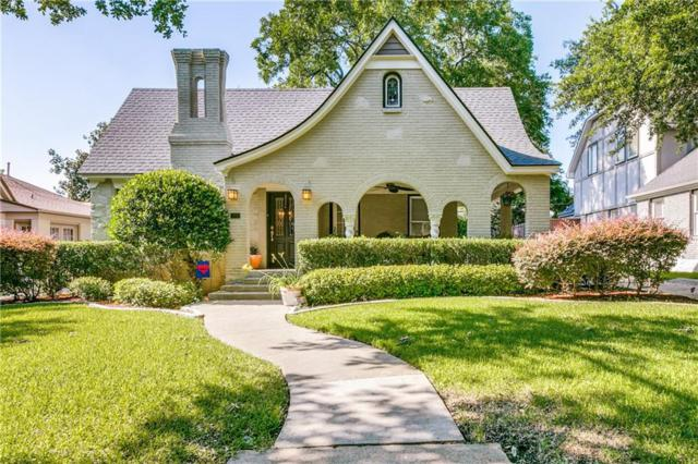 5627 Mercedes Avenue, Dallas, TX 75206 (MLS #14115728) :: The Heyl Group at Keller Williams