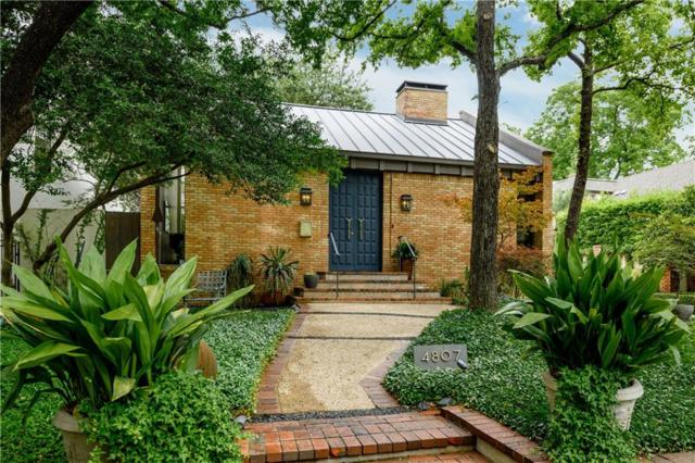 4807 Abbott Avenue, Highland Park, TX 75205 (MLS #14115946) :: Vibrant Real Estate