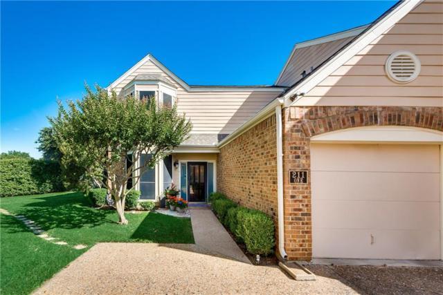 211 Cimarron Trail #1, Irving, TX 75063 (MLS #14115950) :: Kimberly Davis & Associates
