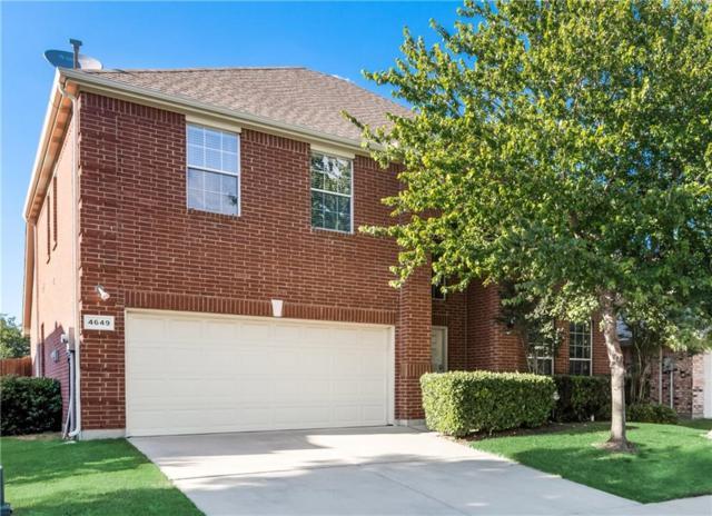 4649 Lance Leaf Drive, Fort Worth, TX 76244 (MLS #14116024) :: The Tierny Jordan Network