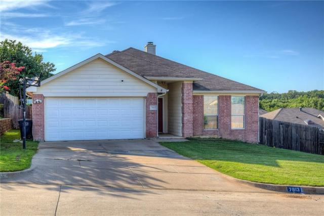 7813 Briarstone Court, Fort Worth, TX 76112 (MLS #14116139) :: The Real Estate Station