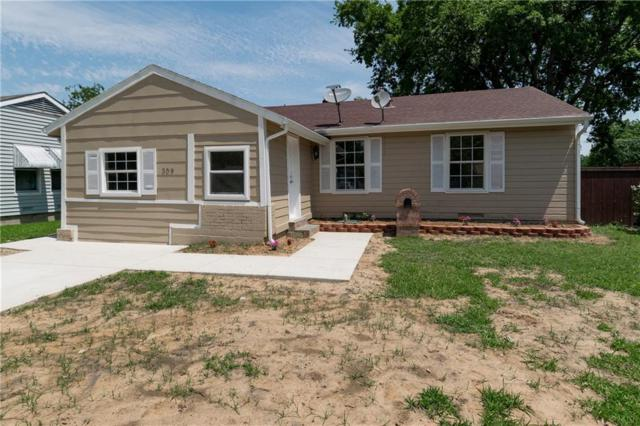 309 Chandler Drive, Garland, TX 75040 (MLS #14116384) :: Tanika Donnell Realty Group
