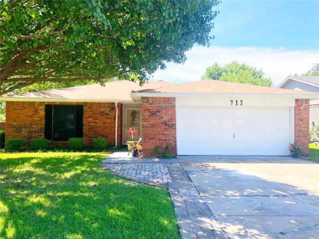 712 Coolwood Lane, Mesquite, TX 75149 (MLS #14116415) :: The Heyl Group at Keller Williams