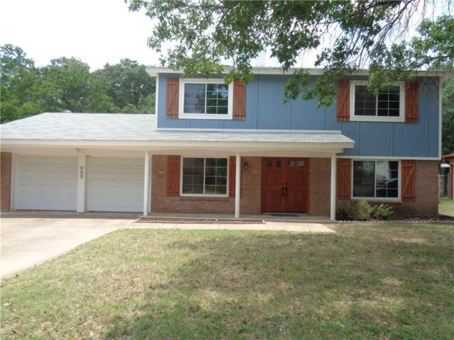 909 Charleston Drive, Bedford, TX 76022 (MLS #14116454) :: The Chad Smith Team