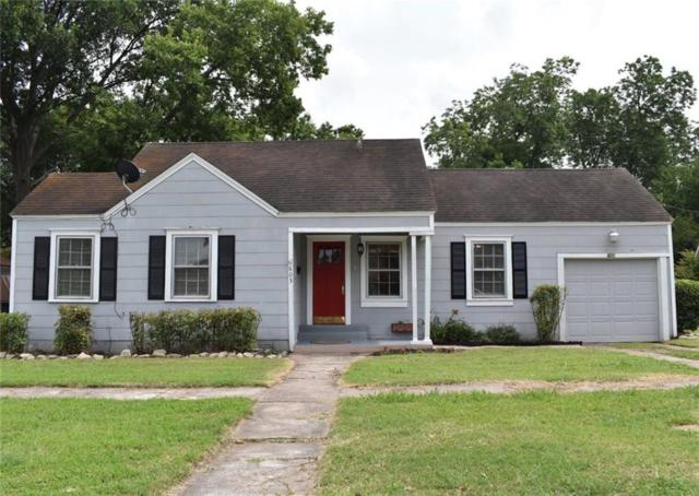 603 W College Street, Terrell, TX 75160 (MLS #14116516) :: The Heyl Group at Keller Williams