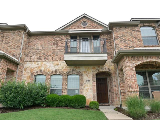 3075 Willow Grove Boulevard #2703, Mckinney, TX 75070 (MLS #14116538) :: Tenesha Lusk Realty Group