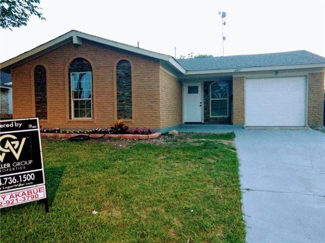607 Parker Circle, Garland, TX 75040 (MLS #14116593) :: The Real Estate Station