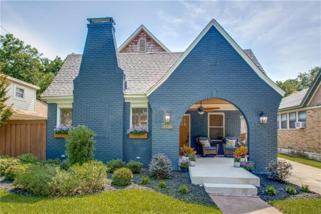 1030 N Windomere Avenue, Dallas, TX 75208 (MLS #14116740) :: RE/MAX Town & Country