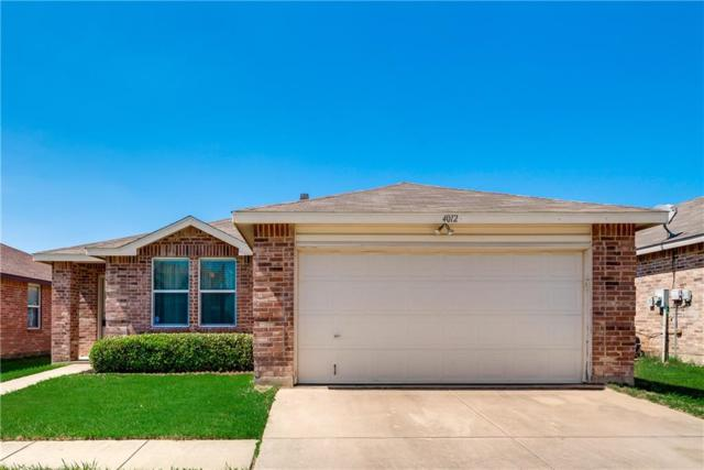 4012 German Pointer Way, Fort Worth, TX 76123 (MLS #14116741) :: RE/MAX Landmark