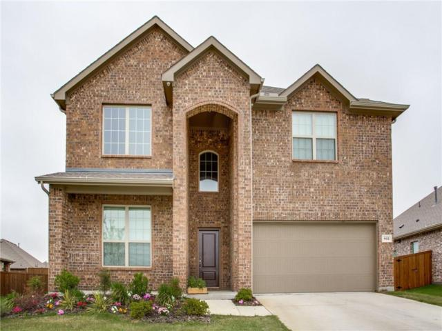 812 Monarch Lane, Celina, TX 75009 (MLS #14116771) :: Tenesha Lusk Realty Group