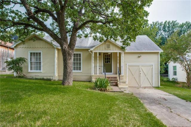 46 Vaughn Drive, Denison, TX 75020 (MLS #14116837) :: RE/MAX Town & Country