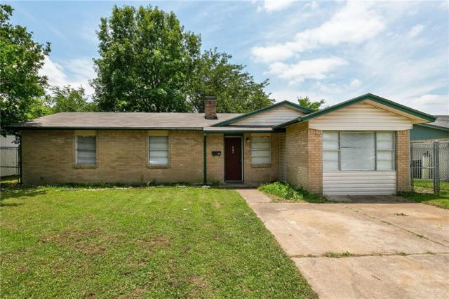1526 Carson Drive, Mesquite, TX 75149 (MLS #14116919) :: The Heyl Group at Keller Williams