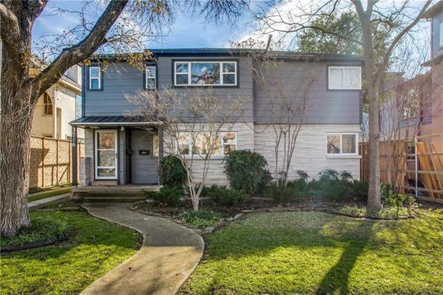 3716 W Beverly Drive, Dallas, TX 75209 (MLS #14117046) :: The Rhodes Team