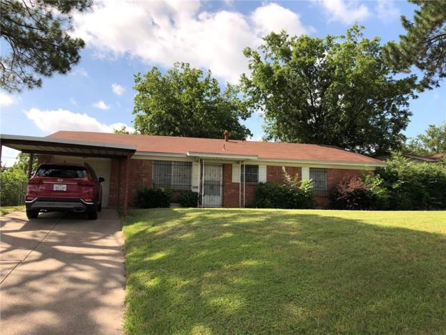 1701 Ellington Drive, Fort Worth, TX 76112 (MLS #14117228) :: The Heyl Group at Keller Williams