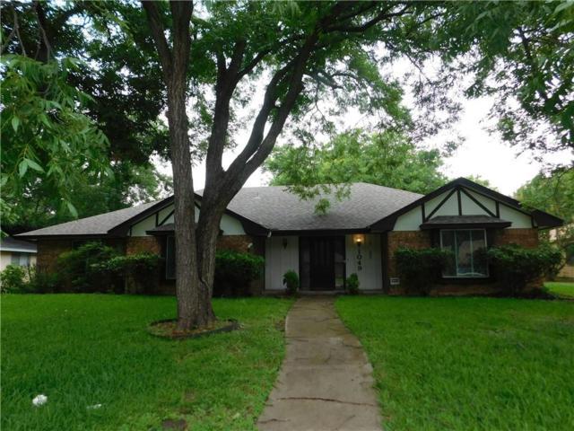 1049 Rosewood Drive, Desoto, TX 75115 (MLS #14117282) :: Tenesha Lusk Realty Group
