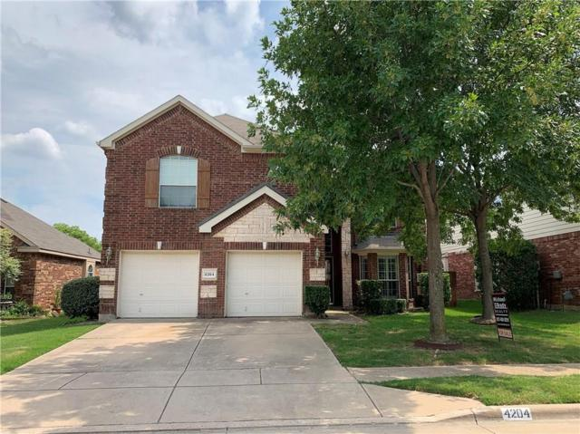 4204 Snapdragon Drive, Fort Worth, TX 76244 (MLS #14117398) :: Real Estate By Design