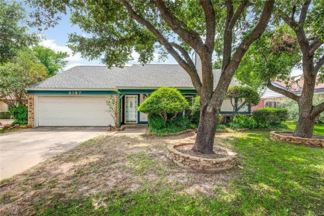 2197 Raines Court, Euless, TX 76039 (MLS #14117516) :: Baldree Home Team