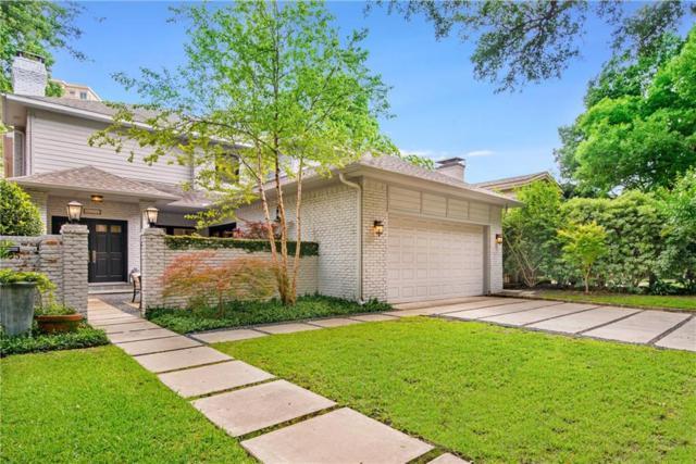 3205 Dartmouth Avenue, Highland Park, TX 75205 (MLS #14117609) :: The Heyl Group at Keller Williams