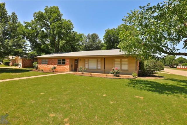 2302 Sylvan Drive, Abilene, TX 79605 (MLS #14117735) :: The Good Home Team
