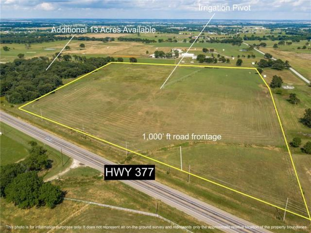 837 Us Highway 377 B, Aubrey, TX 76227 (MLS #14117756) :: RE/MAX Town & Country