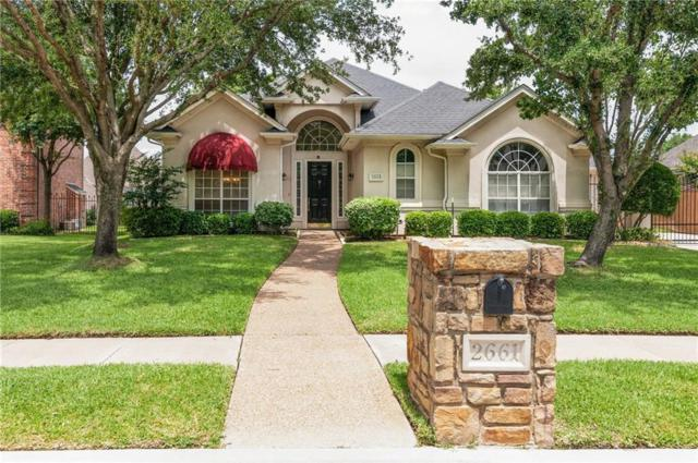 2661 Juniper Lane, Grapevine, TX 76051 (MLS #14117806) :: Team Hodnett